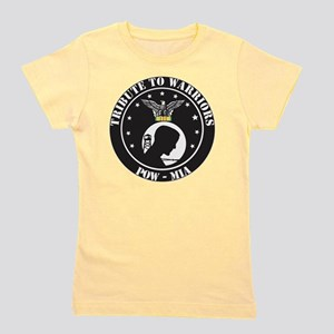 TRIBUTE TO WARRIORS RUN POW MIA Girl's Tee